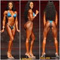 Abreon competes in her first IFBB pro show!
