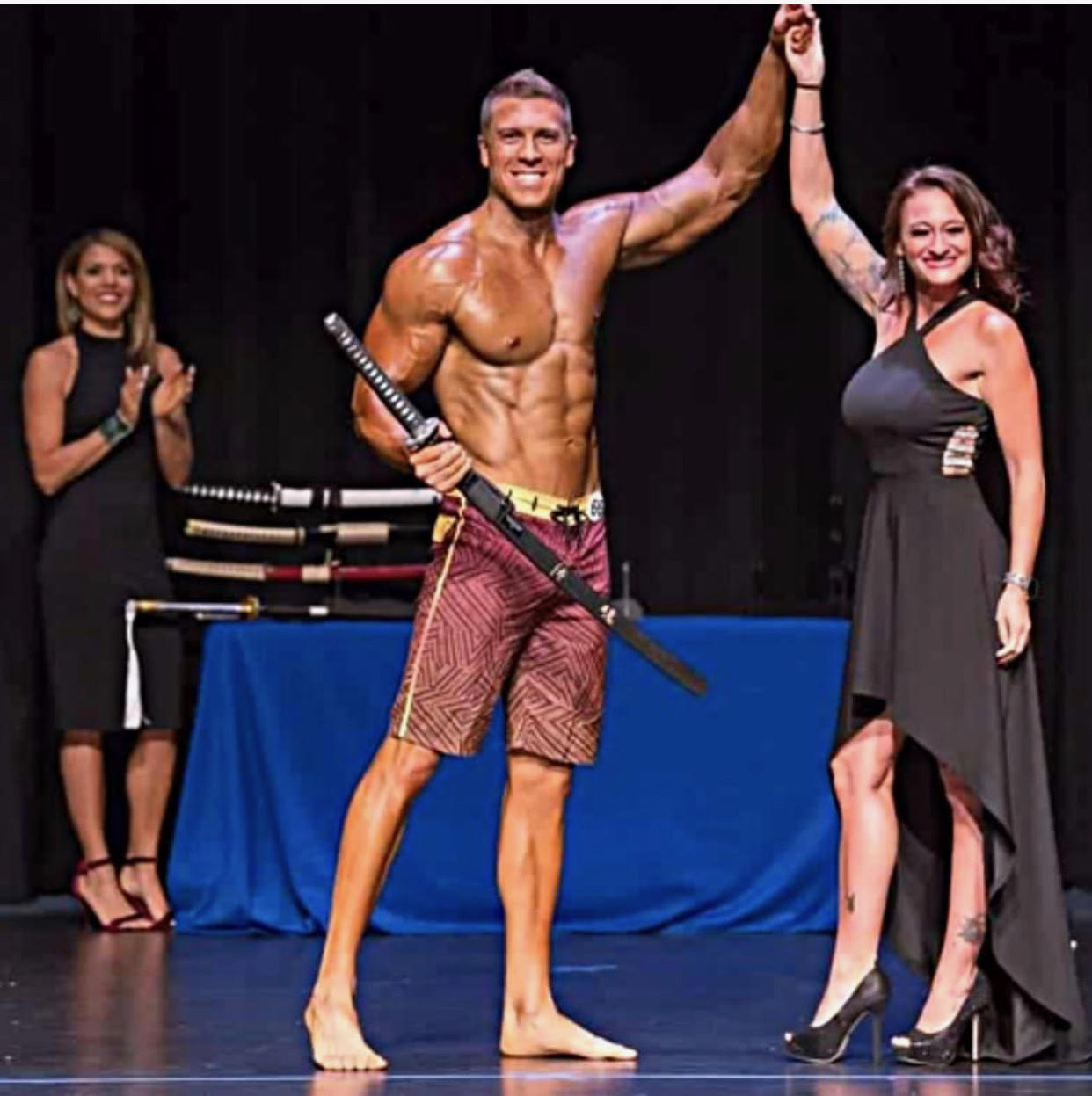 Josh wins his first natural Pro show!
