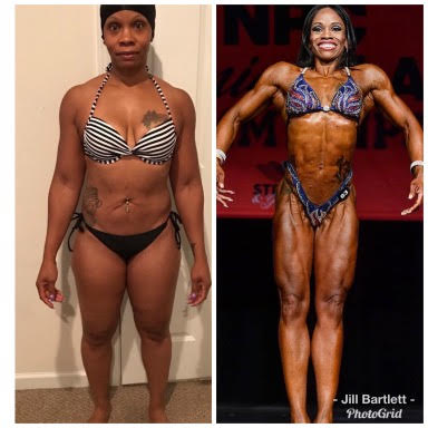 Stacey wins her IFBB PRO card!!