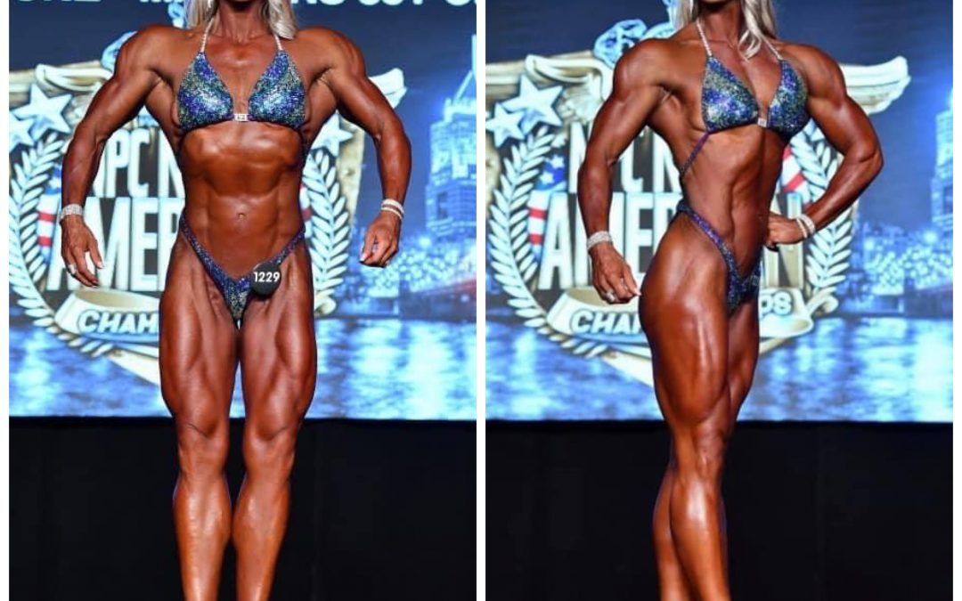 Stacy wins first place in her first show and then goes on to nationals to win 2 Overall wins and 2 IFBB pro cards!!!!